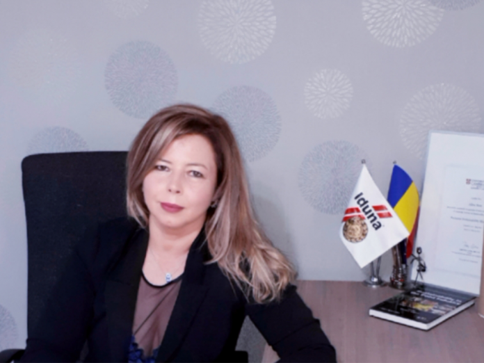 Alina Stan, General Manager of Iduna Romania