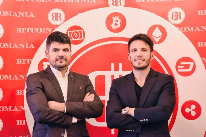 Constantin (left) and George (right) Rotariu, the founders of Bitcoin Romania